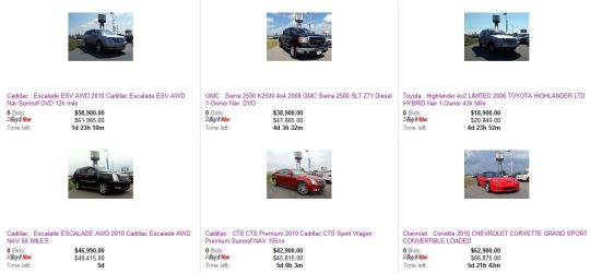 ebay Specials from Charles Boyd Chevrolet of Henderson, NC